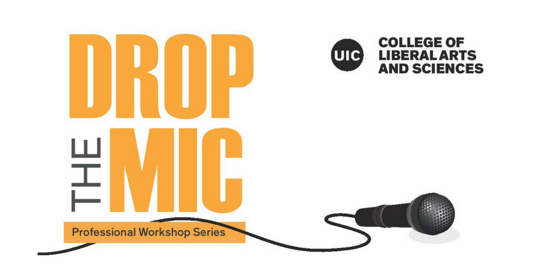 Drop the Mic Professional Workshop Series Logo