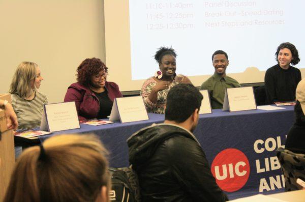 Students on Panel