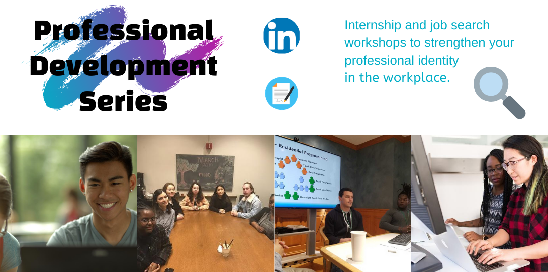 Professional Development Series with students in workshops
