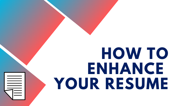 How to enhance your resume and document icon