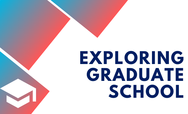 Exploring Graduate School and cap icon