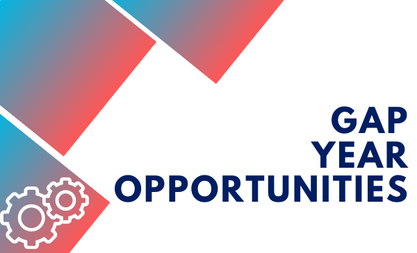 Gap Year Opportunities and gear icon